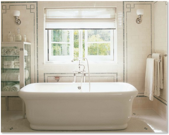 Ceramic tile the perfect bath Empire bathrooms
