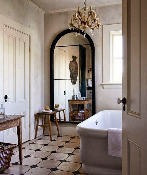 French Country Bathroom Flooring: The Perfect Bath